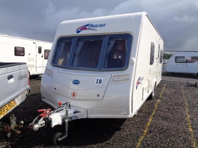 Caravan No. 18 – 2008 Bailey Pageant Vendee, 4 berth, £8,400
