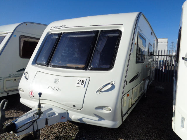 Caravan No. 28 – 2008 Elddis Odyssey 524, 4 berth, £7,500