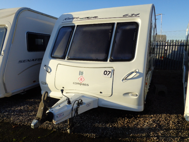 Caravan No. 07 – 2006 Compass Rallye 634, 4 berth £7,500