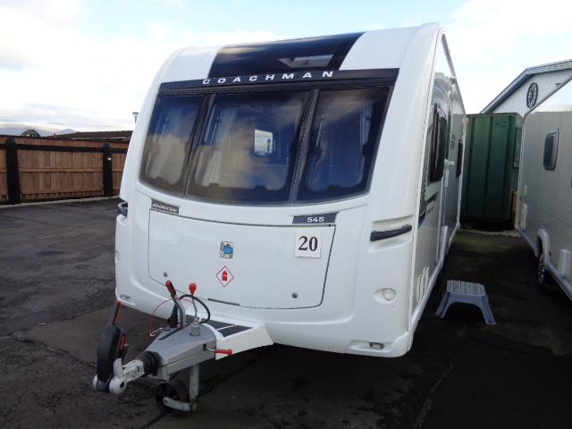Caravan No. 20 – 2017 Coachman Vision 545 Kimberley 4 berth, £17,900