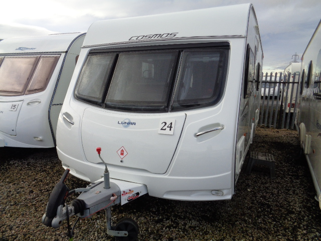 Caravan No. 24 – 2012 Lunar Cosmos 544, 4 berth, £10,500