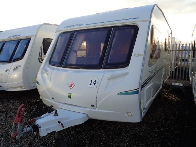 Caravan No. 14 – 2007 Abbey Freestyle 520SE, 4 berth, £6,500