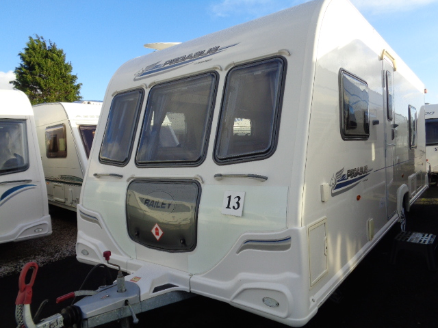 Caravan No. 13 – 2011 Bailey Pegasus 534, 4 berth, £10,600