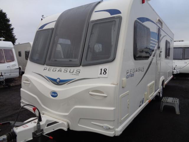 Caravan No.18 – 2014 Bailey Pegasus GT65 Rimini, 4 berth, £14,300
