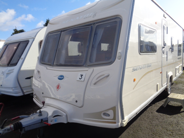 Caravan No. 03 – 2008 Bailey Senator Indiana, 4 berth, £7,900
