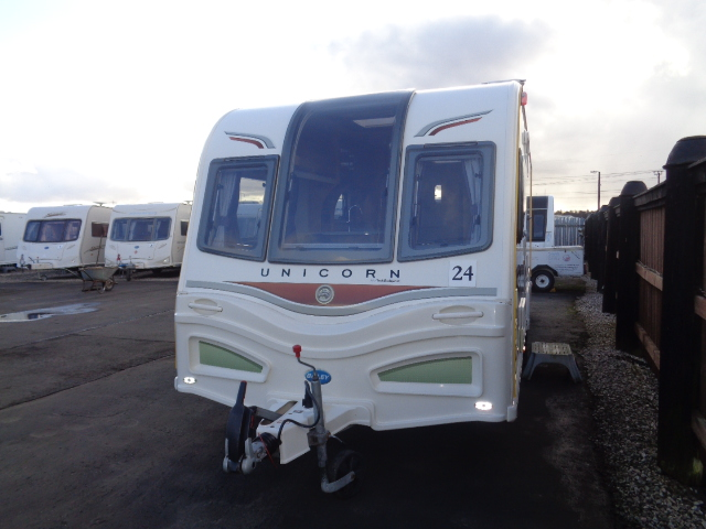 Caravan No. 24 – 2013 Bailey Unicorn Cartegena T/A 4 berth, £17,500