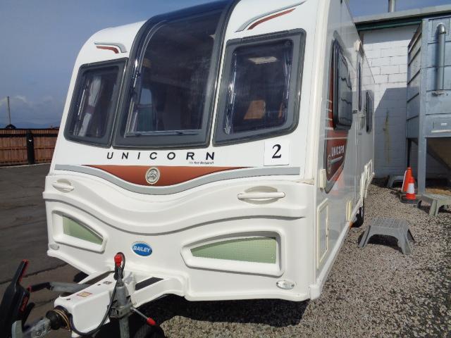 Caravan No. 02 – 2013 Bailey Unicorn Valencia, 4 berth, £15,800
