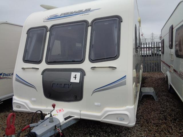Caravan No. 04 – 2010 Bailey Pegasus 524, 4 berth, £13,500