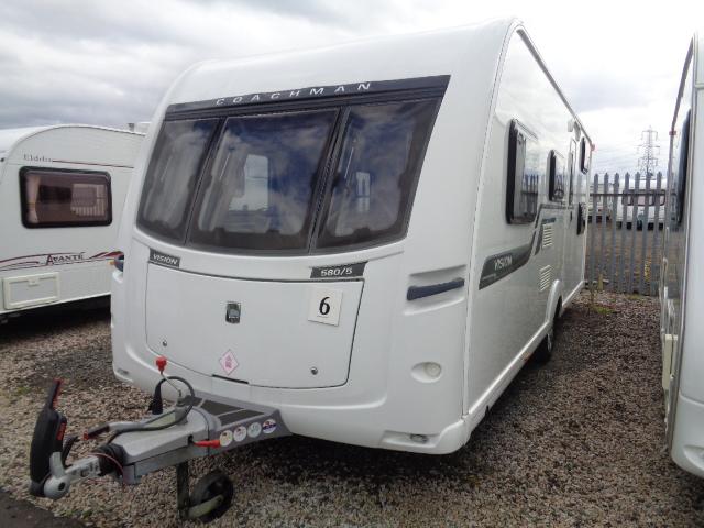 Caravan No. 06 – 2014 Coachman Vision 580/5, 5 berth, £16,500