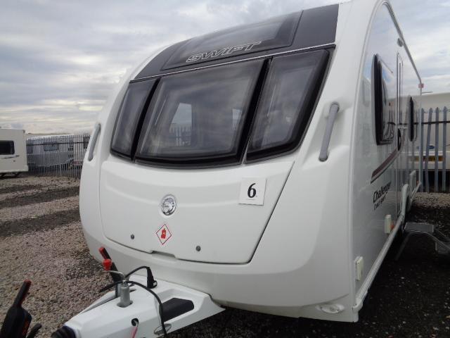 Caravan No. 06 – 2015 Swift Challenger Sport 564, 4 berth, £16,900