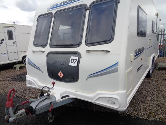 Caravan No. 07 – 2010 Bailey Pegasus 646, 6/7 berth, £14,700