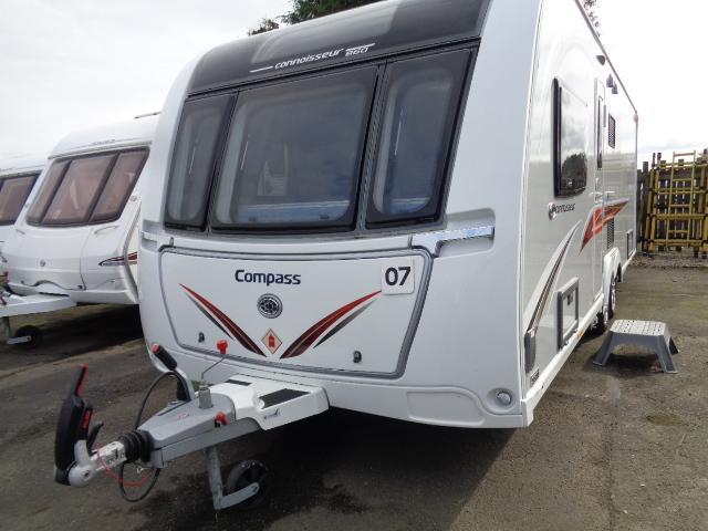 Caravan No. 07 – 2018 Compass Casita 860 Connoisseur, 4 berth, £20,500 (RESERVED)