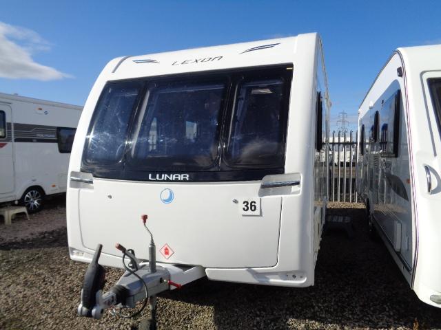 Caravan No. 36 – 2015 Lunar Lexon 470/2, 2 berth, £12,900 (RESERVED)