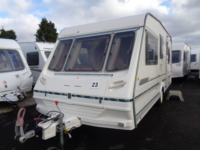 Caravan No. 23 – 1999 Abbey County Warwick, 5 berth, £4,700 (RESERVED)