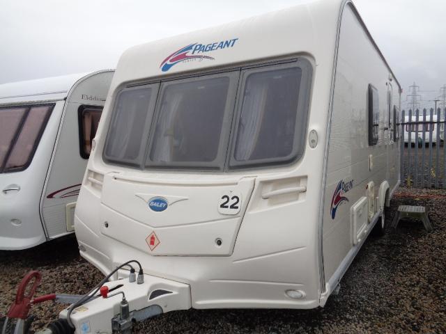 Caravan No. 22 – 2008 Bailey Pageant Vendee, 4 berth, £10,900