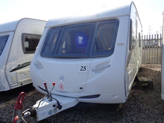 Caravan No. 25 – 2010 Sterling Eccles Ruby 90, 4 berth, £12,500